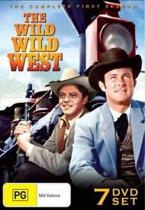 WILD WILD WEST-COMPLETE FIRST SEASON 7DVD