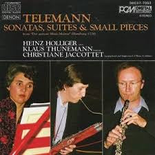 TELEMANN-DER GETREUE MUSIC MEISTER HOLLIGER CD VG