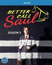 BETTER CALL SAUL SEASON THREE 3BLURAY VG