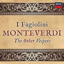 I FAGIOLINI-MONTEVERDI THE OTHER VESPERS CD *NEW*