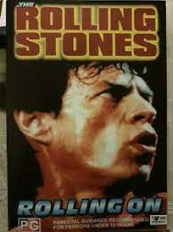 ROLLING STONES THE-ROLLING ON DVD VG