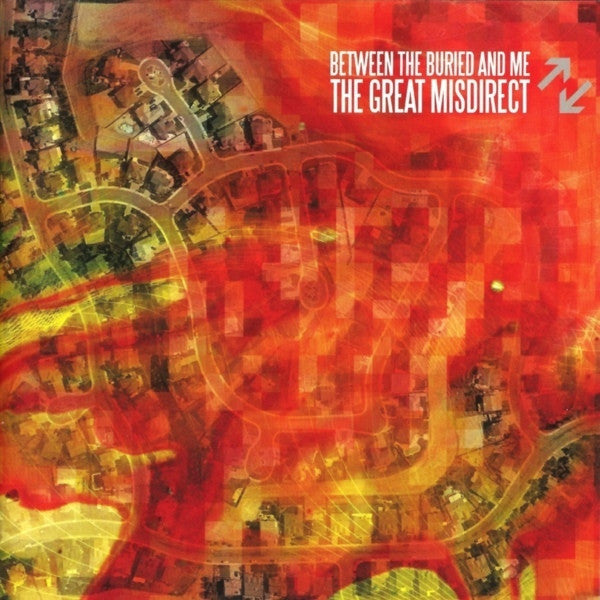 BETWEEN THE BURIED AND ME-THE GREAT MISDIRECT CD VG