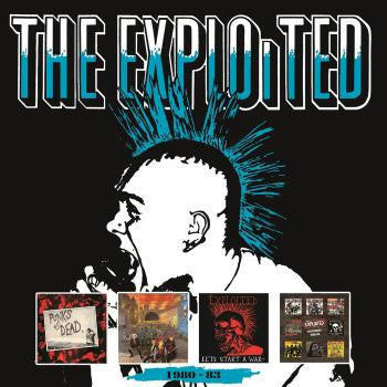 EXPLOITED THE-1980-83 4CD VG