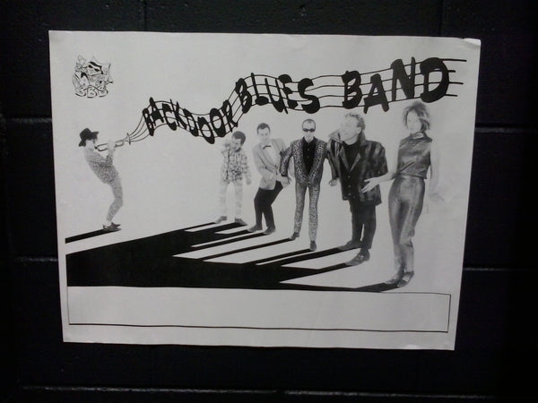 BACKDOOR BLUES BAND-ORIGINAL GIG POSTER