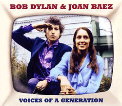 DYLAN BOB AND JOAN BAEZ-VOICES OF A GENERATION 2LP *NEW*