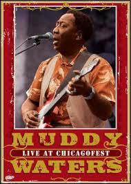 WATERS MUDDY-LIVE AT CHICAGOFEST DVD *NEW*