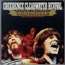 CREEDENCE CLEARWATER REVIVAL-CHRONICLE 2LP VG+ COVER EX