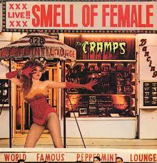 "CRAMPS THE-SMELL OF FEMALE 12"" EP VG COVER VG"