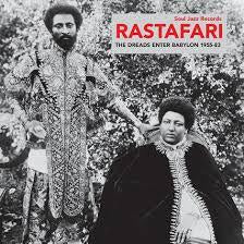RASTAFARI THE DREADS ENTER BABYLON 1955-83-VARIOUS 2LP EX COVER EX
