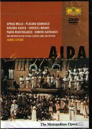VERDI-AIDA JAMES LEVINE DVD VG+