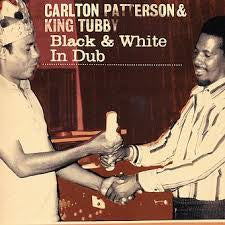 PATTERSON CARLTON & KING TUBBY-BLACK & WHITE IN DUB CD VG