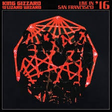 KING GIZZARD & THE LIZARD WIZARD-LIVE IN SAN FRANCISCO '16 2LP *NEW*