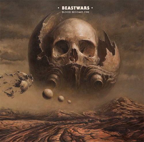 BEASTWARS-BLOOD BECOMES FIRE LP VG COVER EX