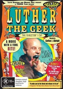 LUTHER THE GEEK DVD VG