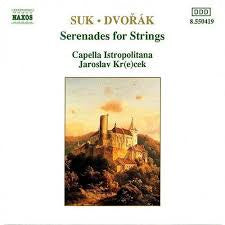 SUK/ DVORAK-SERENADES FOR STRINGS CD *NEW*