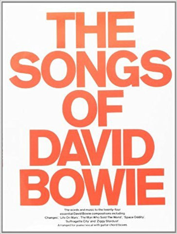 THE SONGS OF DAVID BOWIE-SONGBOOK G
