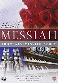 HANDEL-MESSIAH FROM WESTMINSTER ABBEY DVD *NEW*