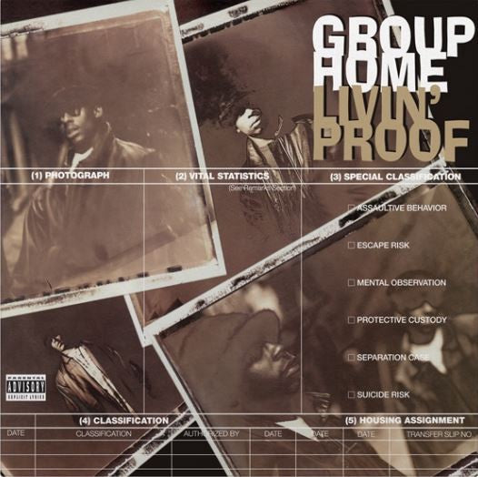 GROUP HOME-LIVIN' PROOF 2LP *NEW*