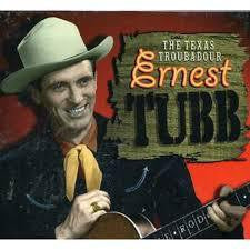 TUBB ERNEST-TEXAS TROUBADOUR 4CD VG+
