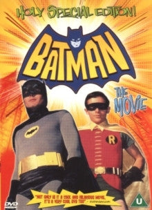 BATMAN THE MOVIE HOLY SPECIAL EDITION REGION 2 DVD VG