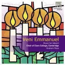 EMMANUEL VENI-MUSIC FOR ADVENT CD *NEW*