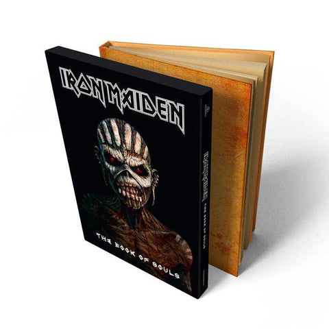 IRON MAIDEN-THE BOOK OF SOULS: LIVE CHAPTER 2CD DELUXE EDITION *NEW*