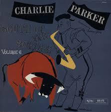 PARKER CHARLIE-SOUTH OF THE BORDER LP E COVER VGPLUS