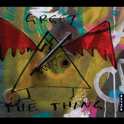 MANINS ROGER & GRG67-THE THING CD *NEW*