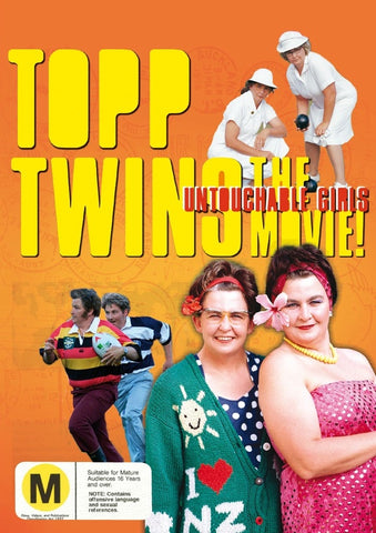 TOPP TWINS-THE MOVIE THE UNTOUCHABLE GIRLS DVD VG