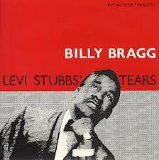 BRAGG BILLY-LEVI STUBBS TEARS 12INCH NM COVER VGPLUS