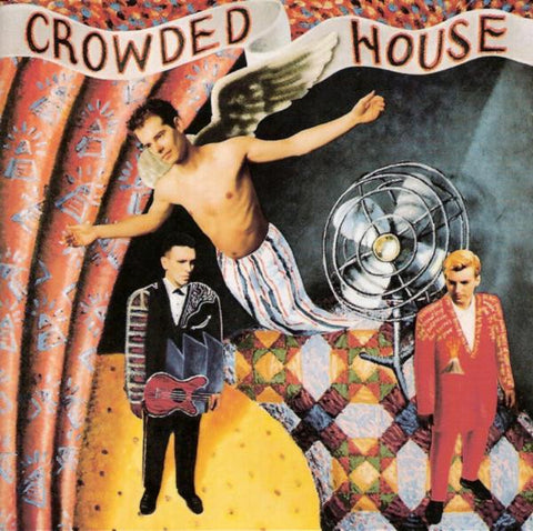 CROWDED HOUSE-CROWDED HOUSE CD VG