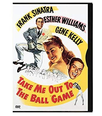 TAKE ME OUT TO THE BALL GAME DVD VG