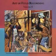 ART OF FIELD RECORDING VOL II-VARIOUS ARTISTS 4CD BOXSET VG