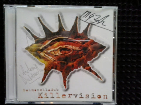 SALMONELLA DUB-KILLERVISION AUTOGRAPHED CD VG+