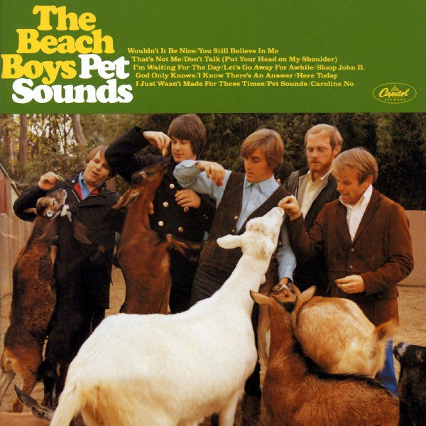 BEACH BOYS-PET SOUNDS STEREO LP *NEW*