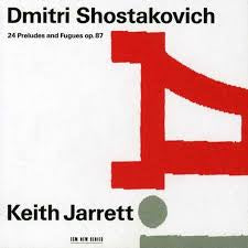 SHOSTAKOVICH DMITRI-24 PRELUDES AND FUGUES OP.87 KEITH JARRETT 2CD VG