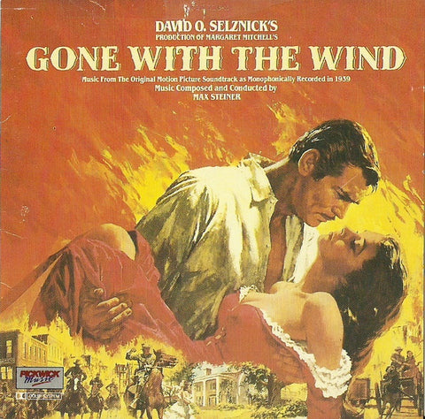 GONE WITH THE WIND OST CD VG