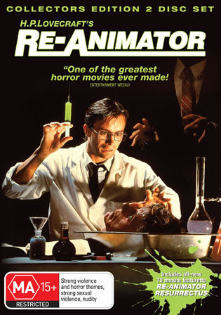 RE-ANIMATOR HP LOVECRAFT 2DVD VG