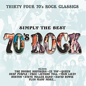 SIMPLY THE BEST 70S ROCK-VARIOUS ARTISTS 2CD *NEW*