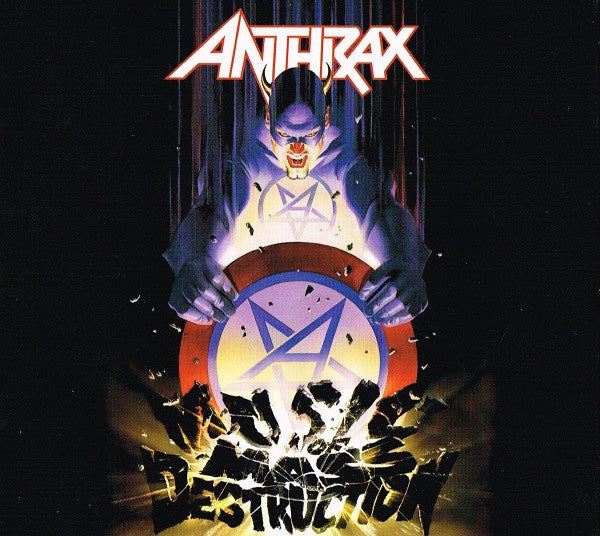 ANTHRAX-MUSIC OF MASS DESTRUCTION CD+DVD *NEW*