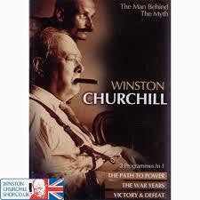 WINSTON CHURCHILL THE MAN BEHIND THE MYTH REGION 2 DVD G