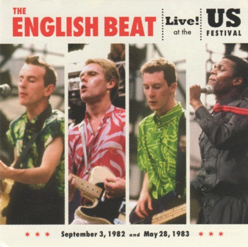 BEAT THE-LIVE AT THE US FESTIVAL '82 & 83' CD+DVD *NEW*