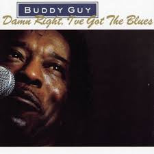 GUY BUDDY-DAMN RIGHT, I GOT THE BLUES LP VG COVER VG