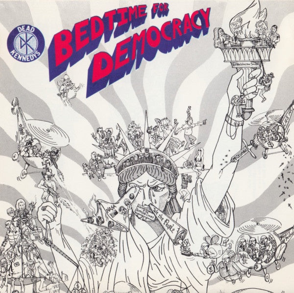 DEAD KENNEDYS-BEDTIME FOR DEMOCRACY CD *NEW*