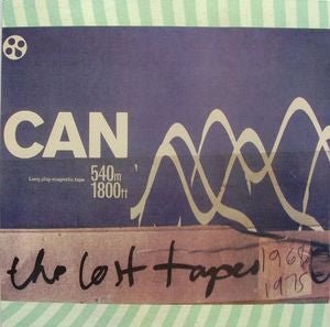 CAN-THE LOST TAPES SAMPLER LP VG+ COVER VG+
