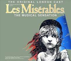 LES MISERABLES ORIGINAL LONDON CAST 2CD *NEW*