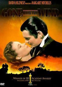 GONE WITH THE WIND DVD G