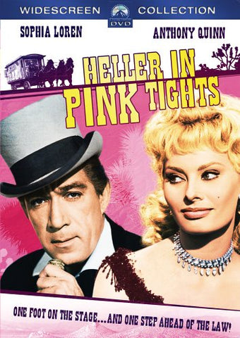 HELLER IN PINK TIGHTS DVD VG+