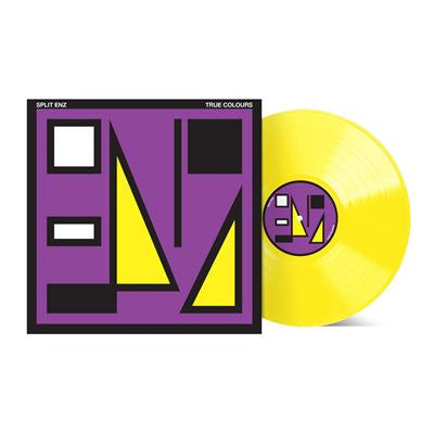 SPLIT ENZ-TRUE COLOURS YELLOW VINYL LP *NEW*