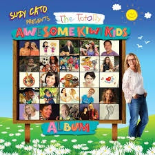 CATO SUZY-PRESENTS THE TOTALLY AWESOM KIWI KIDS ALBUM CD *NEW*